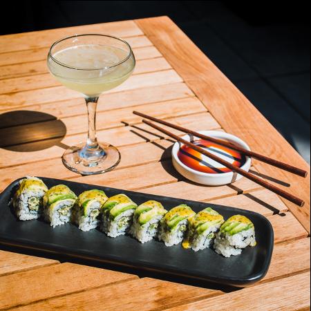 Bamboo Sushi Roll